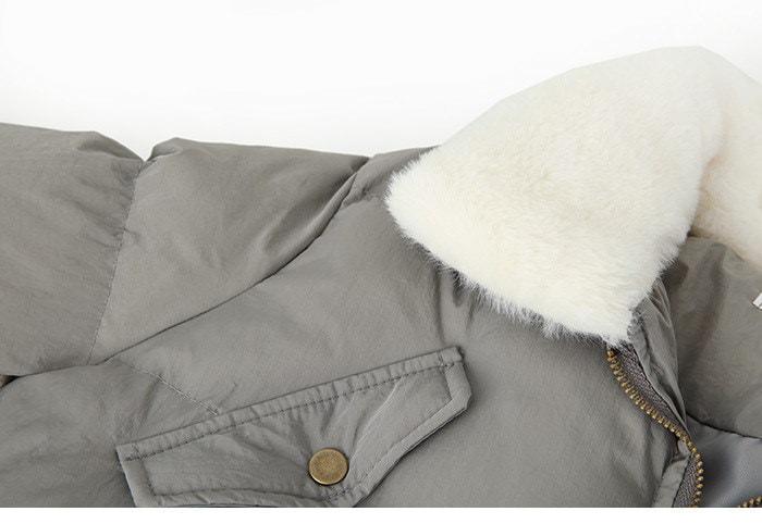 Lapel collar coat jacket waist collar collar