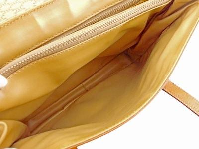 セリーヌセリーヌ CELINE ハンドバッグ バッグ メンズ可 マカダム ライトブラウン PVC×レザー 人気 【中古】 T5812