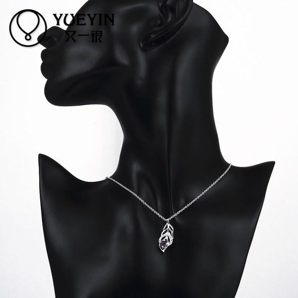 ファッションジュエリー女性925スターリングシルバージルコンネックレス&ペンダントCollares Mujerコーディチェーンカラー