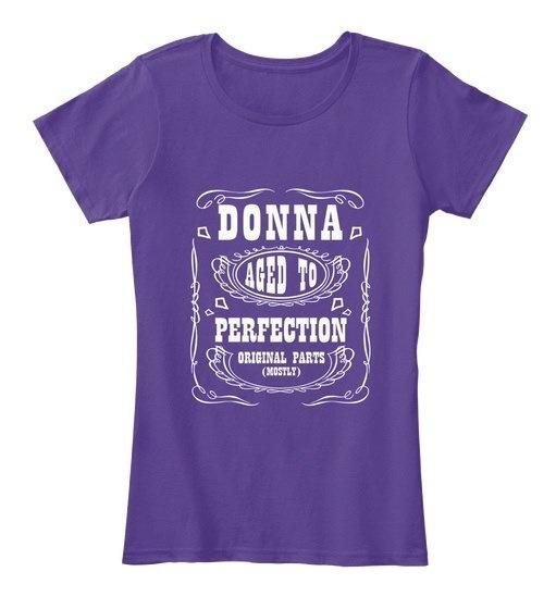 ドナは、完全な女性のプレミアムティーに老化した