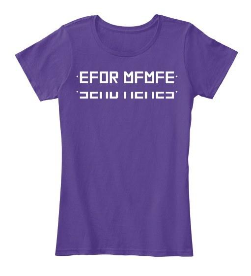Send Memes shirt隠しメッセージWomen's Premium Tee
