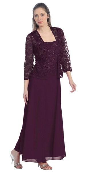 女性のファッションロングスリーブOネックレースのパッチワーク純粋なエレガントなシフォンドレスWZC8989