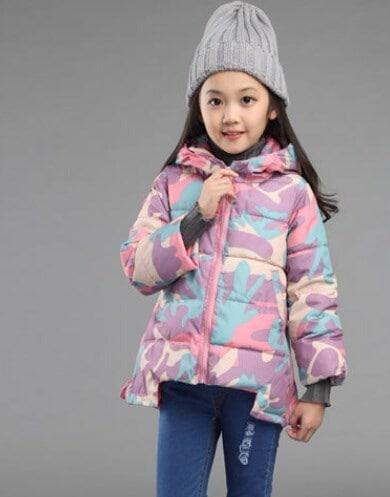 秋冬子供パーカージャケット&コートかわいい女の子の服キッズアウターウェアウォームToddle