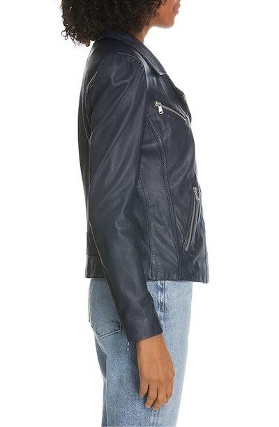 レベッカテイラー レディース ジャケット・ブルゾン アウター Rebecca Taylor Leather Biker Jacket