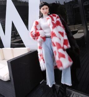 ト女/暖かい人工ファー/韓国ファッション/フィットスタイル/大ヒット/大人気/美しいデザインで
