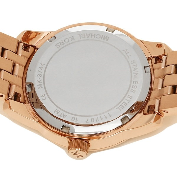 マイケルコース 時計 MICHAEL KORS MK3744 RITZ ブレスレットセット レディース腕時計ウォッチ ローズゴールド