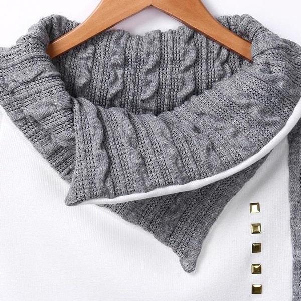 新しい女性の冬の長袖プルオーバーパーカパジャーセーターコート