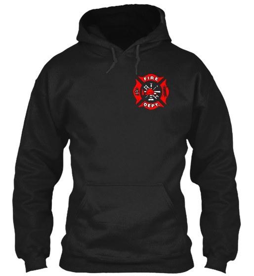 消防士のバンカーギアギルダンパーカーのスウェットシャツ