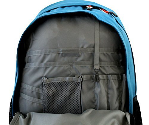 The North Face men s Jester laptop Backpack BANF BLUE-  polo