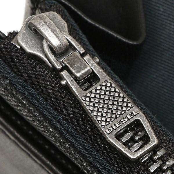 DIESEL 財布 ディーゼル X04351 PR559 T8013 メンズ 長財布 ブラック