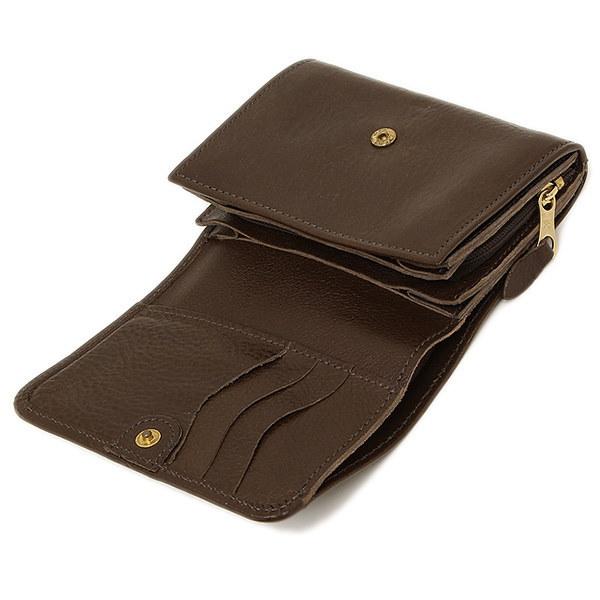 イルビゾンテ 財布 IL BISONTE C0883 P 455 二つ折り財布 MOKA