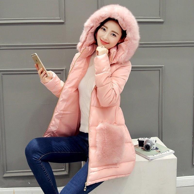 新しいコート&ジャケット2016フード付き冬のジャケットの女性のプラスサイズルースロングコートレジャーは、パーカー女性の冬生き抜くを温めます