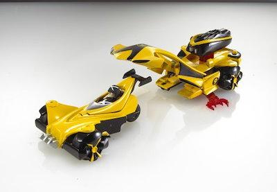 ホットウィール スピード・レーサー DXバトルレーサー:レーサーX