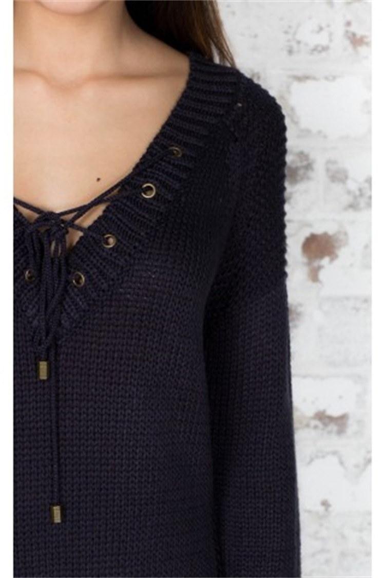 2017新しい女性のファッション冬のセーターコートスリム
