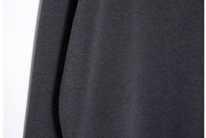『韓国製』 Marso ワンピース「大きいサイズ 大人・結婚式・ 黒 フレア・ママワンピ・黒Aライン、シャツ・コットン フォーマル