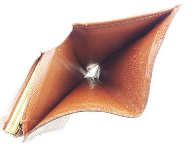 ルイヴィトンルイ ヴィトン Louis Vuitton がま口 財布 二つ折り メンズ可 ポルトモネビエヴィエノワ モノグラム ブラウン ベージュ ゴールド モノグラムキャンバス 人気 【中古】 T6072