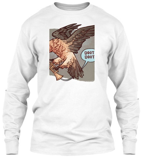 堕天使Murmur GildanロングスリーブTシャツ