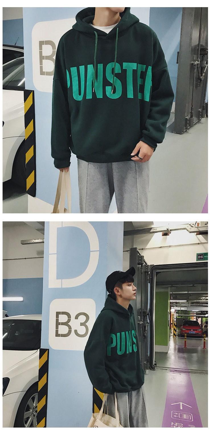 パーカー レディース 大きいサイズ トップス  韓国ファッション フード付き 英語プリント 裏起毛 パーカー グリーン 取寄