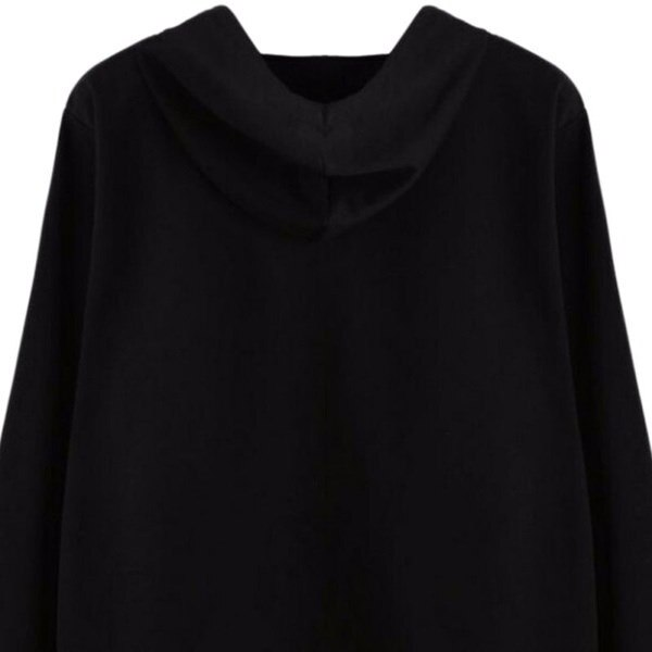 新しいカジュアルウェアプルオーバー女性服エイリアンプリントフード付き長袖スウェットシャツ