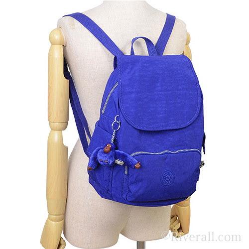 キプリング KIPLING City Pack S リュックサック バックパック  インクブルー ナイロン k15635-h70 【Luxury Brand Selection】