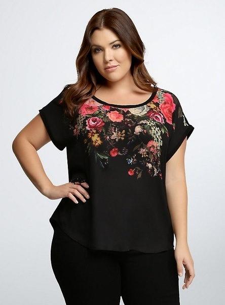 女性のファッション新しいプラスサイズのOネック半袖プリントゆるいTシャツ(XL-XXXXXL)WAY3032