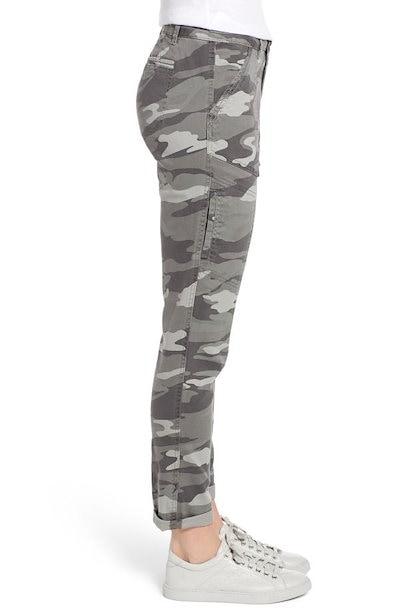 ウィット&ウィズダム レディース カットソー トップス Wit & Wisdom Flex-ellent Camo High Waist Cargo Pants (Nordstrom Exclusiv