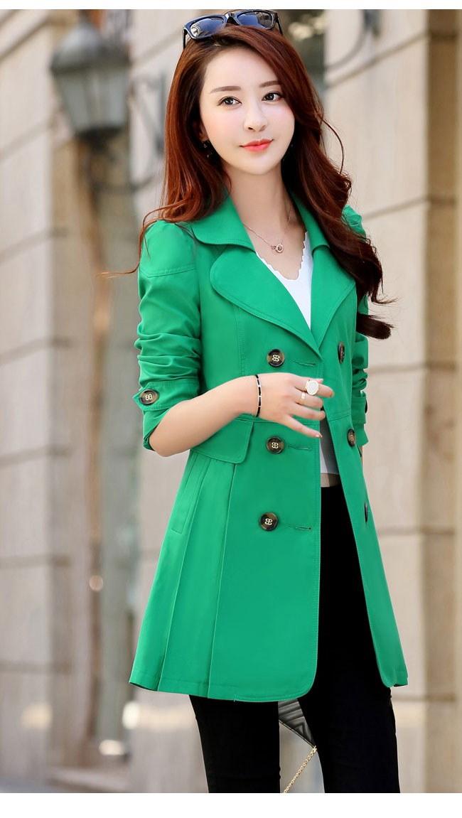 シンプル 無地 かわいい 可愛 上品 フルカラー アウター コート 女性用 レディース お洒落 トレンチコート OL