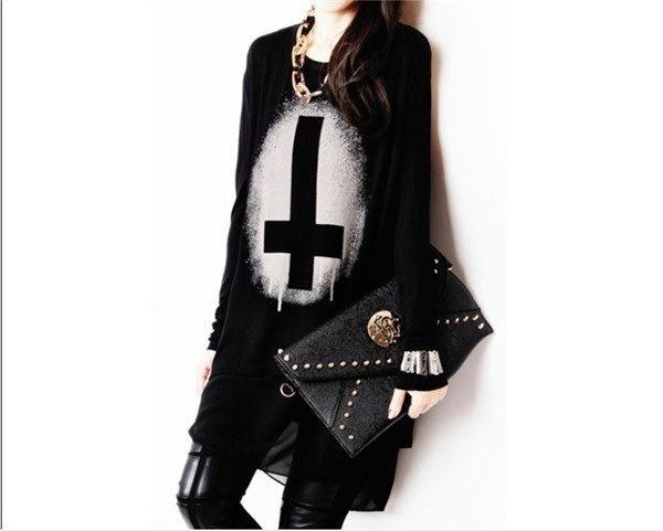 女性韓国スタイルカジュアルシフォントップファッションスプライシングレイヤードクロスTシャツブラウス