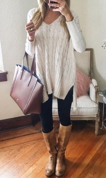Women Sweaters Jumpers Sweater Dress Burderry Pull Femme V-neck Loose Knitted Sweater Plu Size S-XXL