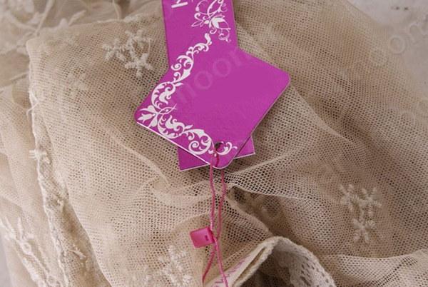 2014年新ファッションレトロレディース夏レーススリーブシアー花蝶のかぎ針編みのTシャツトップブラウスC