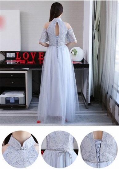 パーティードレス 大きいサイズ ドレス 20代 30代 ロングドレス XS~3XL ブライドメイド 結婚式 花嫁ドレス 演奏会 レディース グレー 40代 新作
