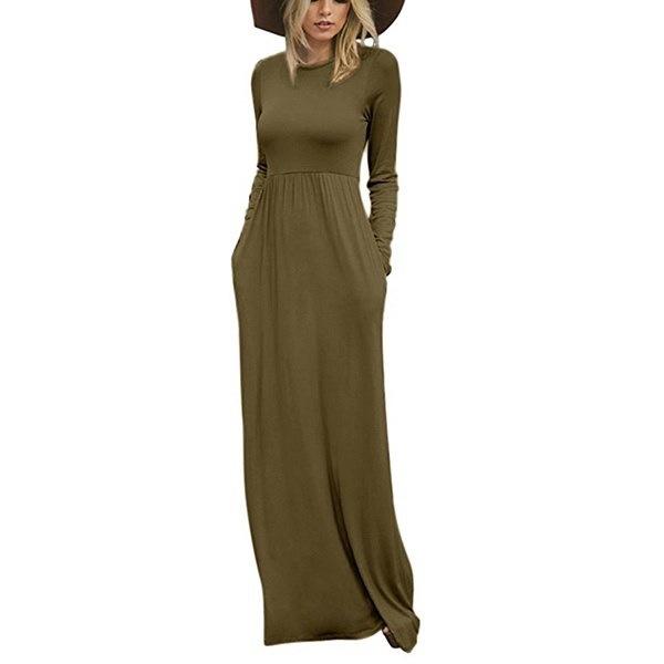 女性秋冬ファッションウイングカラーMaxiドレープトレンチコート