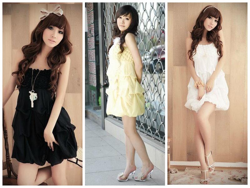 かわいい☆フェミニン!シフォンドレス♪6色♪サマードレス☆ ※納期に10日から14日ほどかかります。