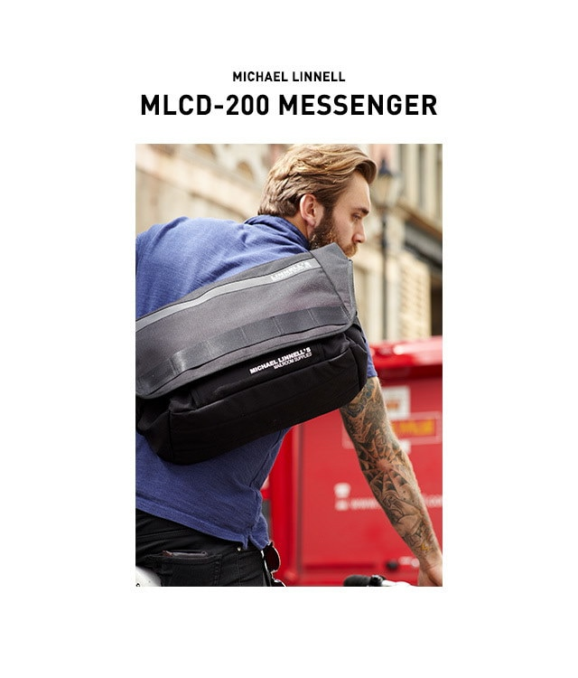 マイケルリンネル MICHAEL LINNELL メッセンジャーバッグ MLCD-200 メンズ レディース 【日本正規代理店商品】