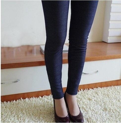 Winter Leggings Women Warm Fleeces Leggings Solid Thicken Footless Legging Pants