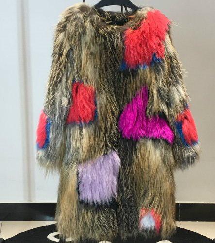 Real fox fur Haining coat リアルフォックスファーロングコート ジャケット