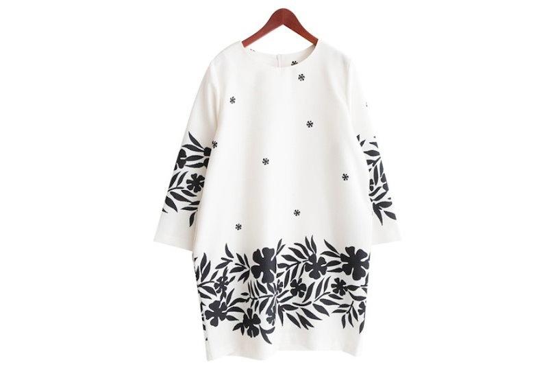 『韓国製』SELLISHOP  Bonnie ワンピース「大きいサイズ 大人 韓国 ファッション・結婚式・フォマール 黒 フレア 30代 40代 50代 スレンダー・Aライン,シャツ・上品・ロング ミ