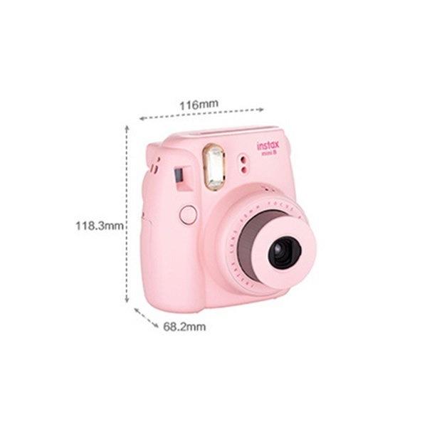 ミニ8ポラロイドカメラ用保護ケース12cmx11cm