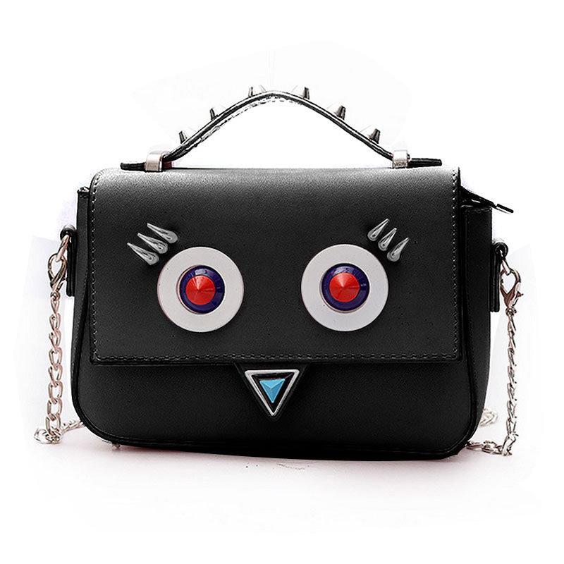【予約】【送料無料】ロボットレディースファッションバッグ/人気で可愛い女子用鞄/斜め掛けバッグ/5 colors