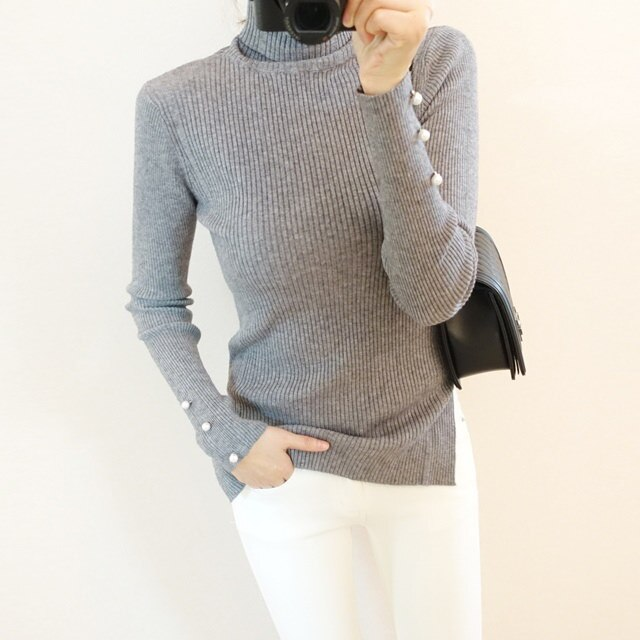[Dimming] Pearl Polar Knit 4 Colors