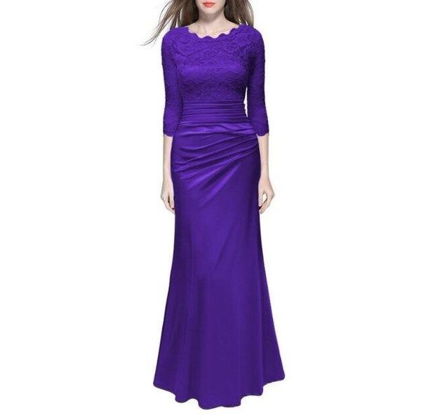 レディースロングフォーマルウエディングドレス