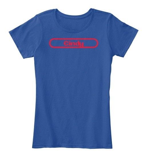 シンディーは覚えておくべき女性のプレミアムティーTシャツ