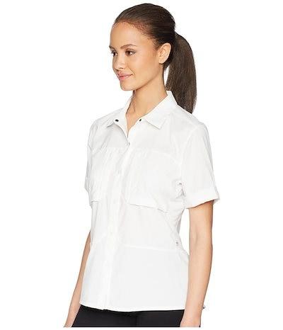 マウンテンハードウェア レディース シャツ トップス Canyon Pro¢ Short Sleeve Shirt