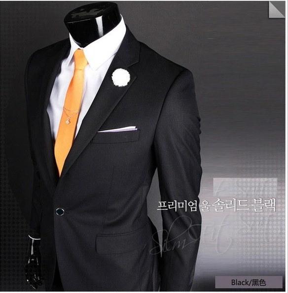 新しいファッション高品質のメンズスモールビジネススーツウェディングスーツ