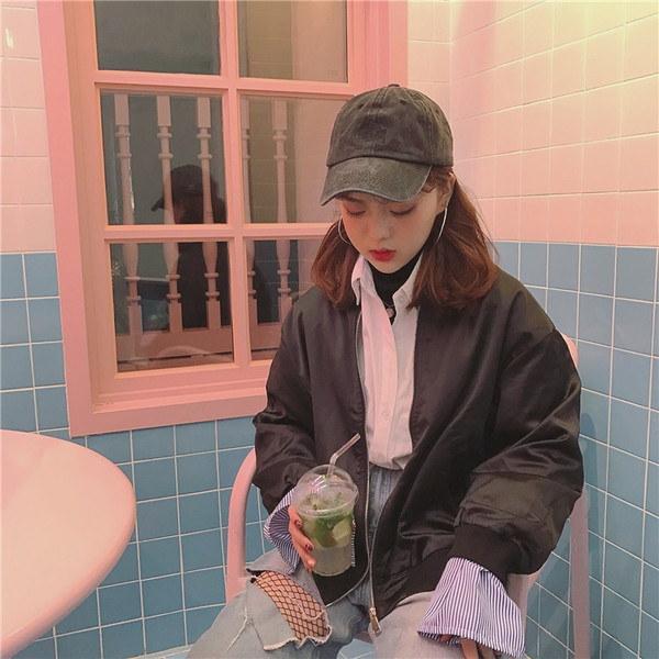 【送料無料】レディース アウター ジャケット 大きめ 甘辛 2017年