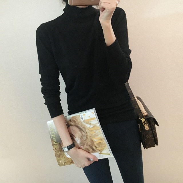 [Dimming] Brand Polar Knit 6 Color Turtleneck Knit Neck Neck Polar Knit Polar Knit Turtleneck