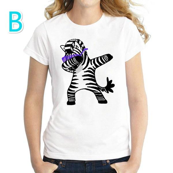 8タイプユニコーンTシャツ女性ユニコルニオ夏の女性ファッショントップスレディースTシャツカジュアルショートS