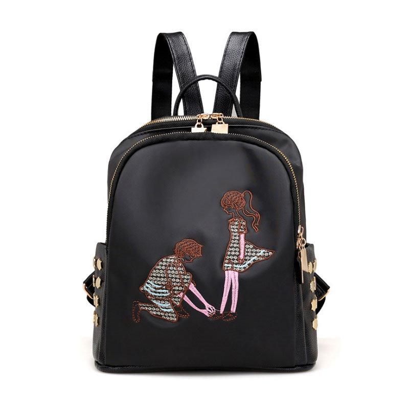 【予約 / 送料無料】カップルリュックサック/ラブ鞄/大容量/使い勝手がよい/女子用バックパック/通学/修学旅行用鞄-2 styles