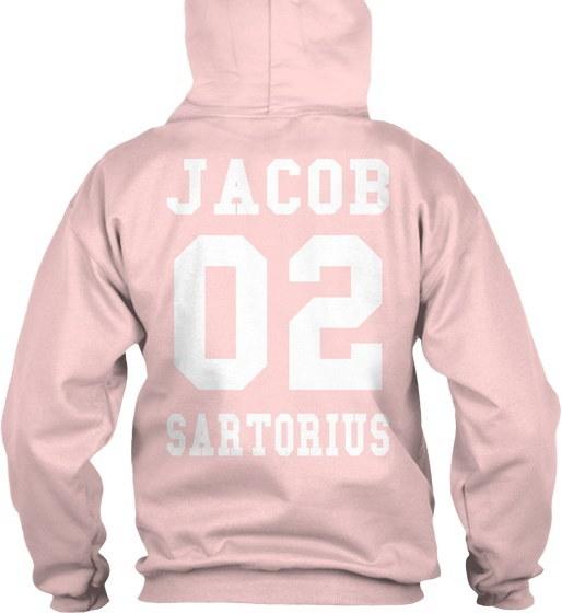 Jacob Sartorius 02 Gildan 8oz Heavy Blend Hoodie