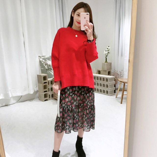 Bird knit knit Korean fashion style